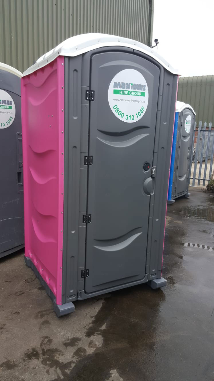 female portable loo